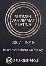 Laamo Suomen vahvimmat platina